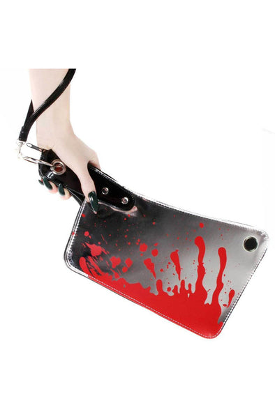 Kreepsville 666 Cleaver Clutch Bag Metallic - Vampirefreaks Store