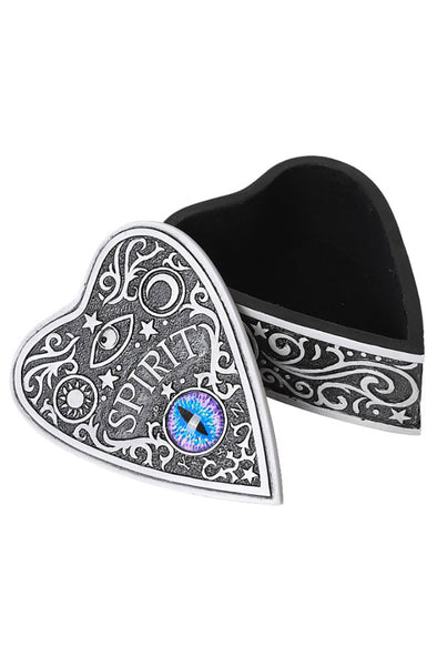 Ouija Spirit Board Planchette Box