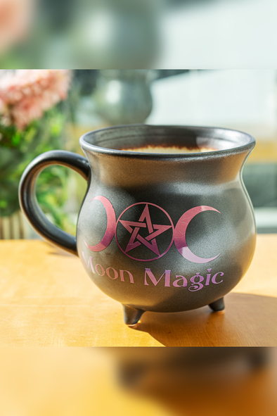 Moon Magic XL Cauldron Mug / Soup Bowl