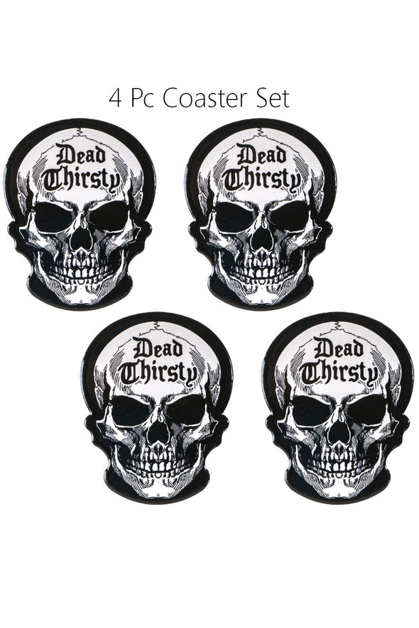 Dead Thirsty Coaster Set
