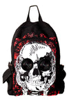 skater skull novelty backpack with speakers