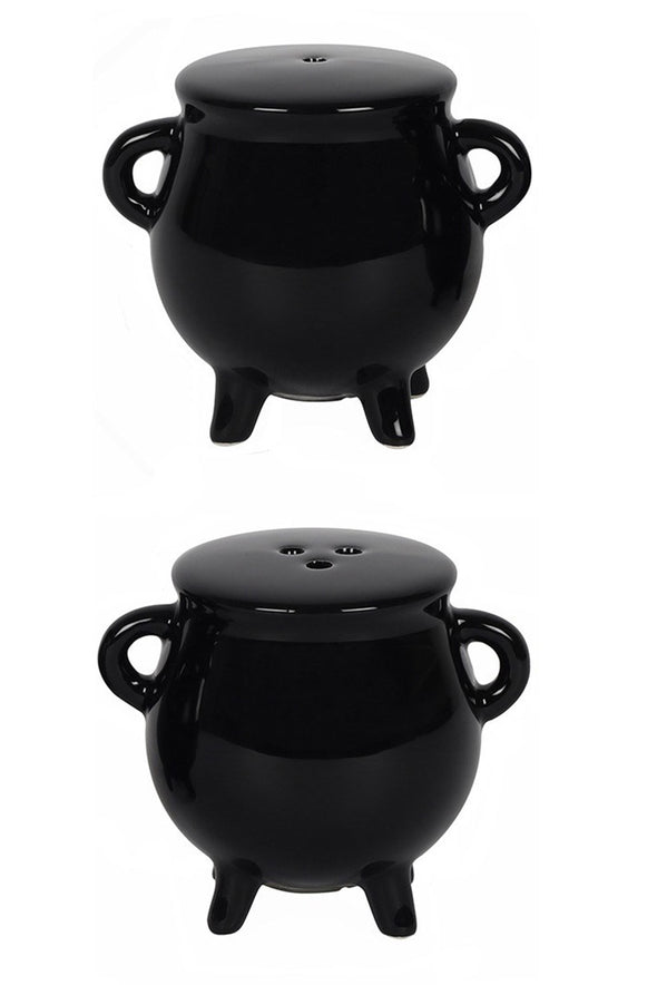 Witch Cauldron Salt & Pepper Shakers