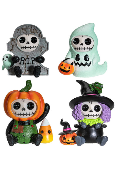 Furrybones Halloween 4-Piece Set (Limited Edition)