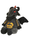 gothic Baphomet plush toy
