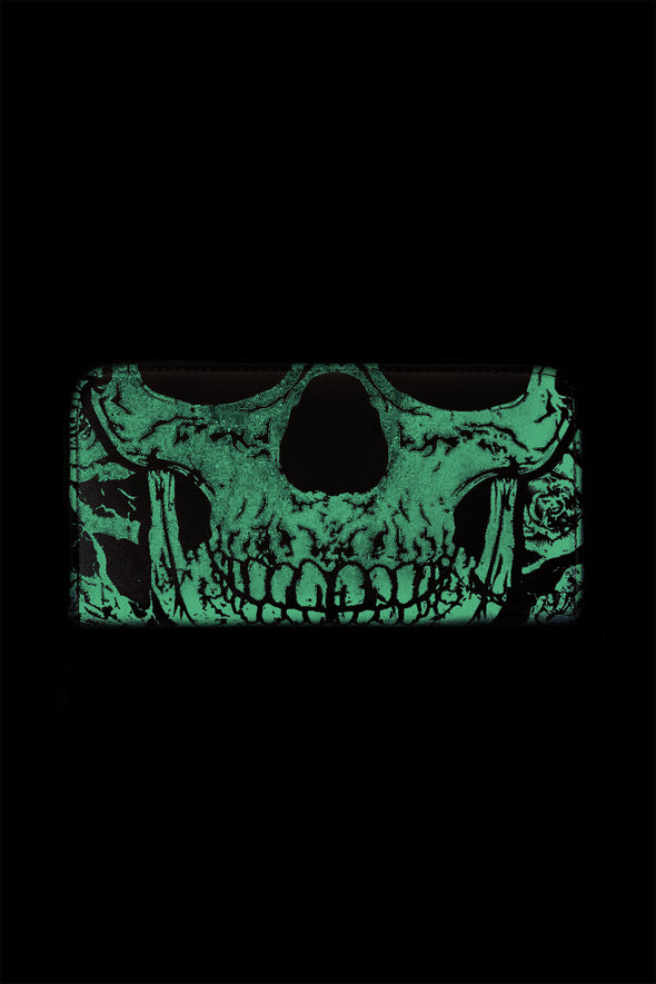 Glowing Skull Wallet