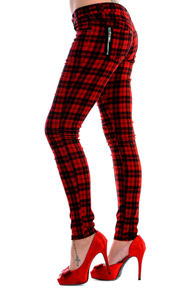 Bloodlust Red Skinny Jeans