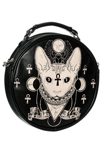 Bastet Round Bag
