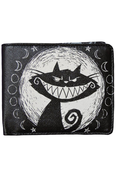 We're All Mad Here Cheshire Cat Bi-Fold Wallet