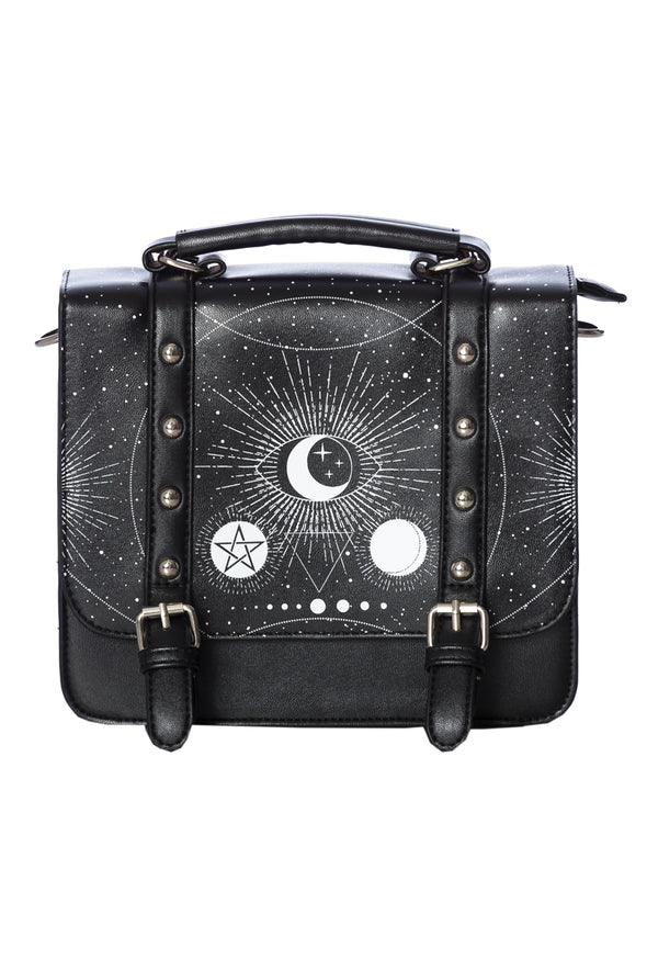occult witch satchel bag