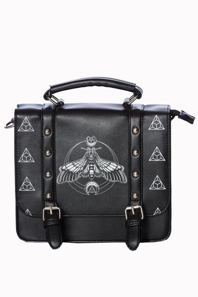 Moon Moth Small Satchel Bag