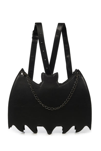 Black Celebration Bat Backpack