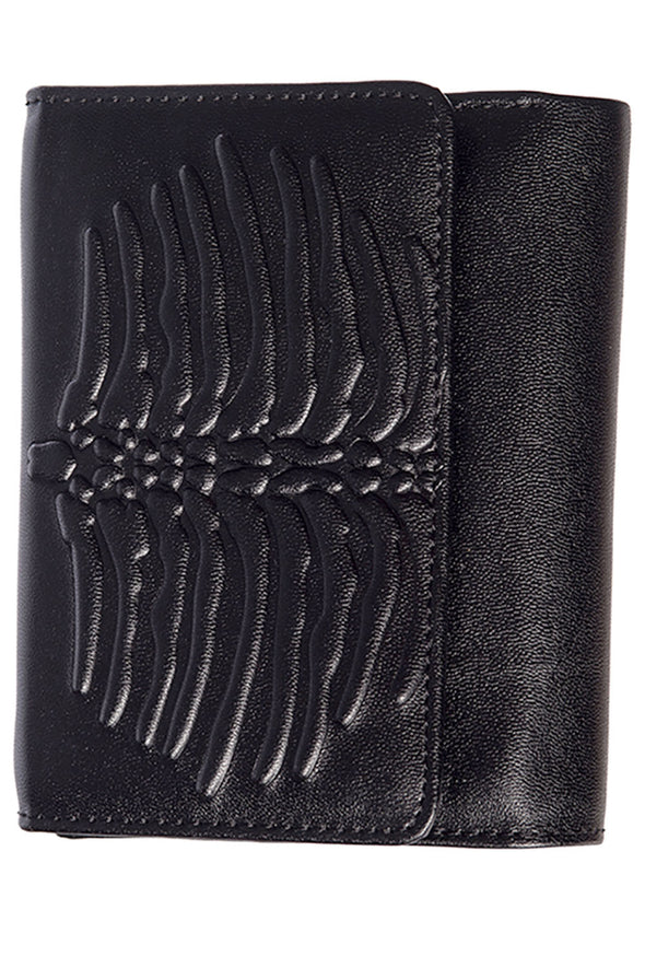 Embra Ribcage Emboss Wallet