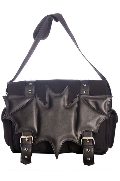 Dark Ritual Bat Shoulder Bag