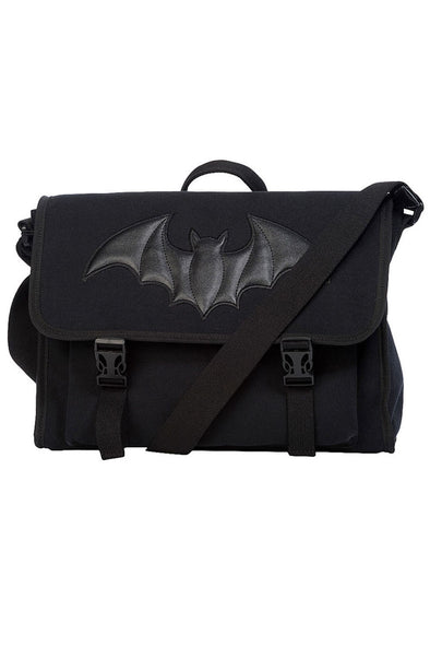 Shadow of the Bat Messenger Bag