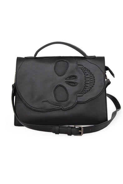Grim Grinning Death Messenger Bag