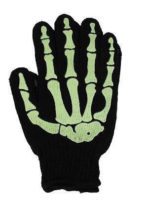 Skeleton Work Gloves - Glow - Vampirefreaks Store