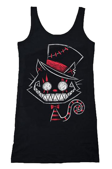 Psychotic Delight Cheshire Cat Tank Dress