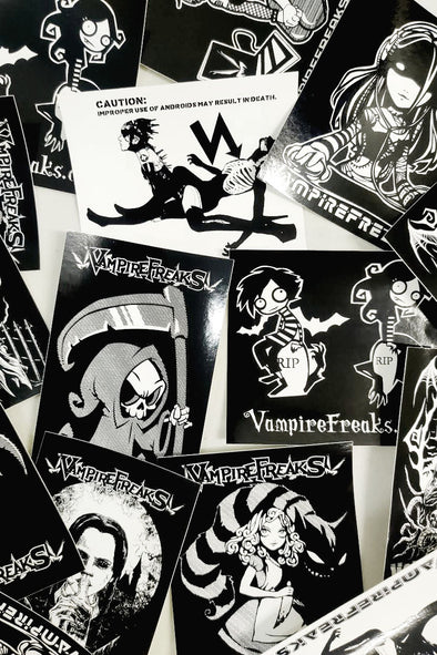 VampireFreaks Stickers - 5 Pack
