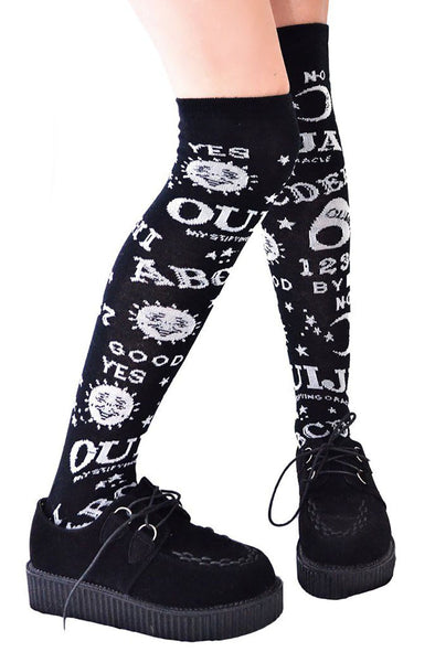 Invoke Netherworlds Knee-High Socks