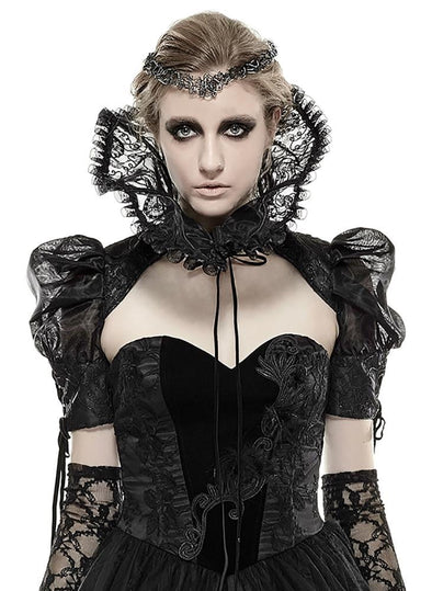 Punk Rave Evil Queen Collar Shrug