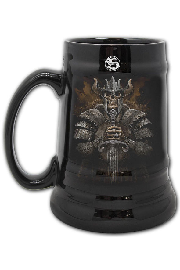 Viking Warrior Ceramic Beer Stein