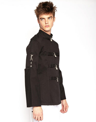 Tripp Straight Jacket w/Locks - Black