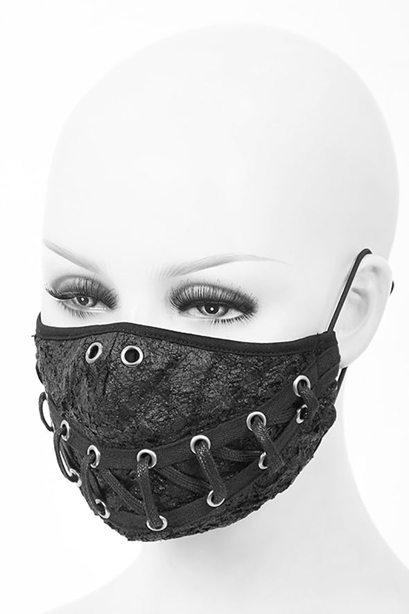 Devil Fashion Stitched Up Face Mask with 2 filters - Vampirefreaks Store
