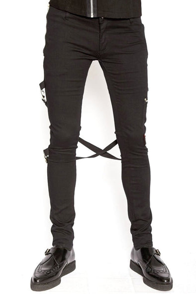 Tripp NYC Chaos Bondage Pants [Black]