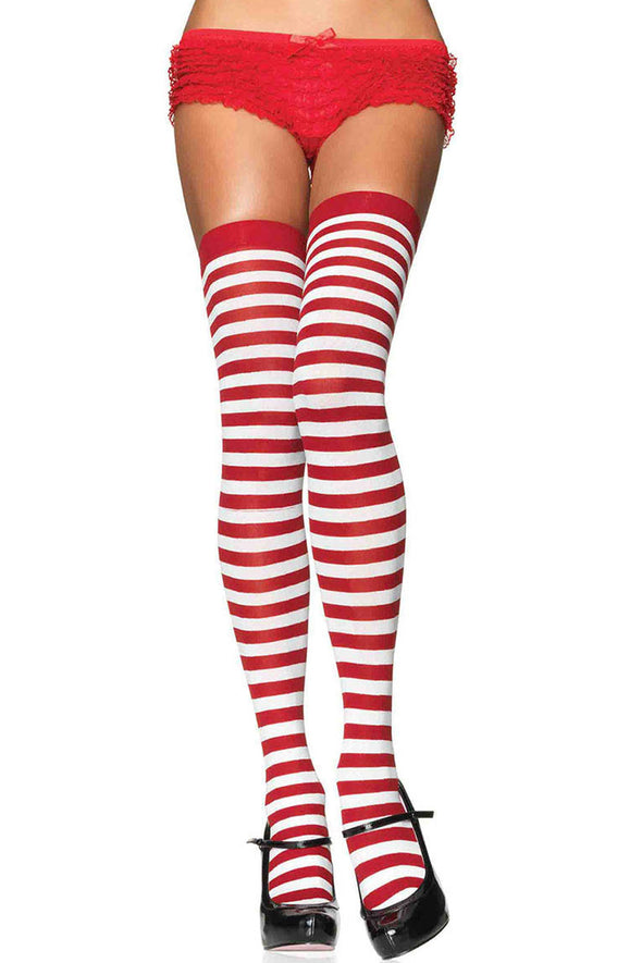 Stripe Thigh Highs - Various Colors