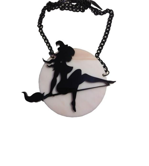 Bewitched Acrylic Necklace
