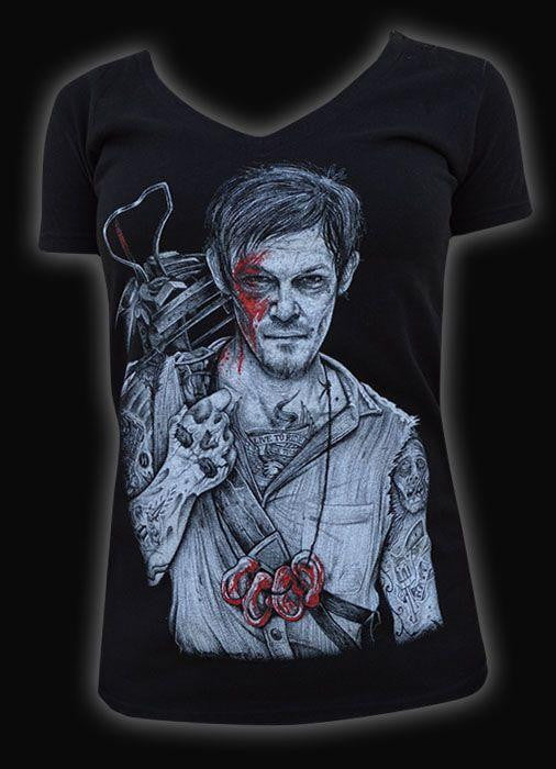 Daryl Dixon Ladies T-Shirt
