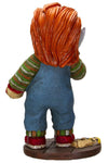 chucky horror movie statue toy