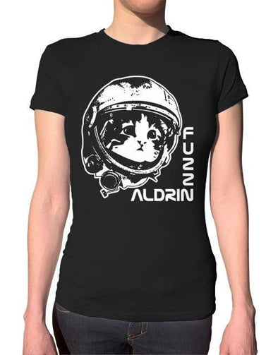 Fuzz Aldrin Ladies T-Shirt