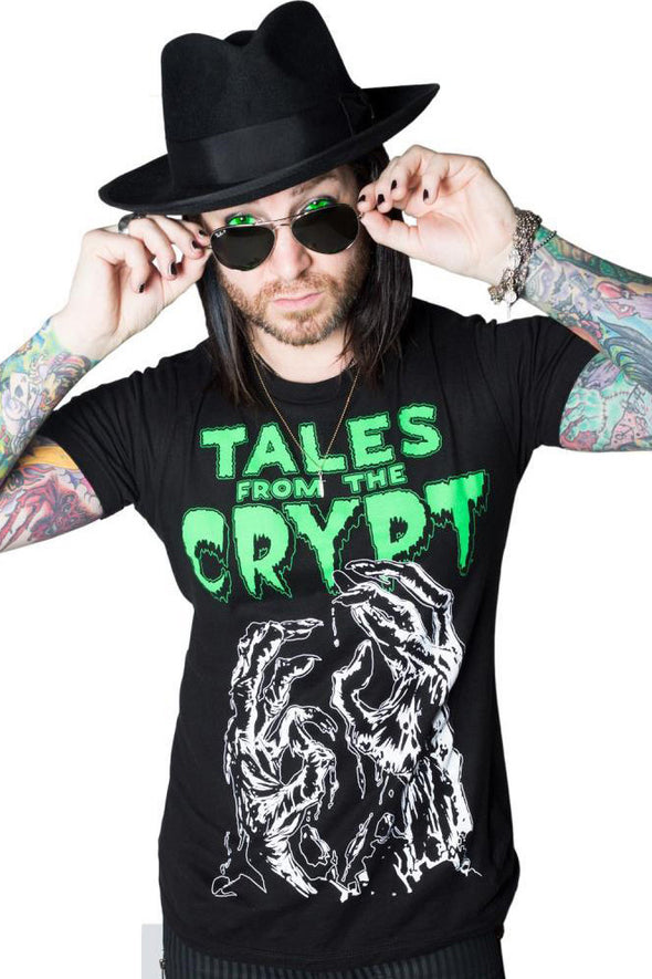 Tales from the Crypt Zombie Tee (It Glows!)
