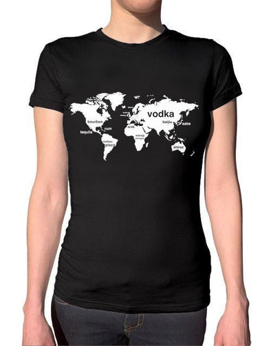 International Boozing Ladies T-Shirt