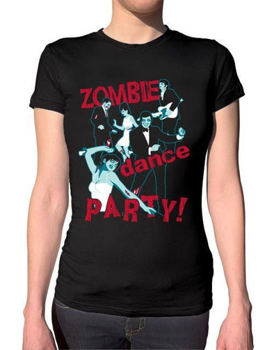 Zombie Dance Party Ladies T-Shirt