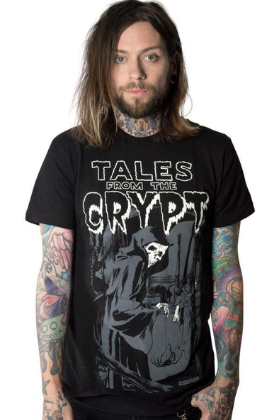 Tales from the Crypt Grim Reaper Tee (It Glows!)