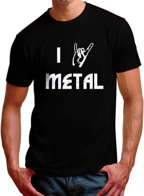 Devil Horns Metal Mens T-Shirt