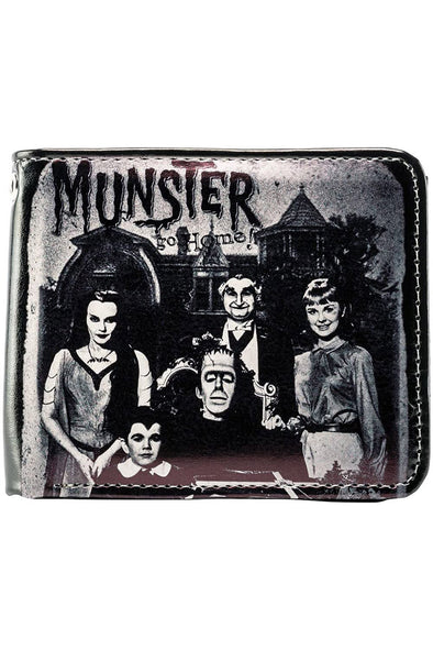 Munsters Go Home Billfold Wallet - Vampirefreaks Store