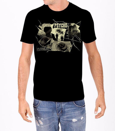 Psycho Collage Mens T-Shirt