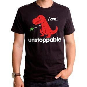 Unstoppable Dino Mens T-Shirt