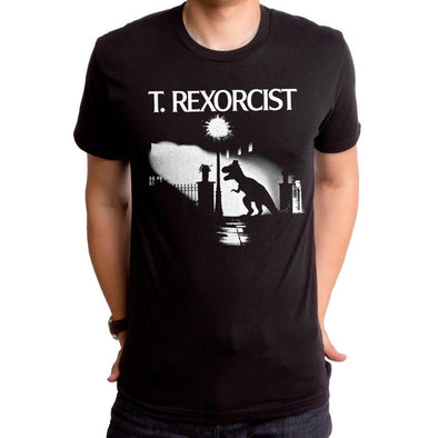 T Rexorcist Mens T-Shirt