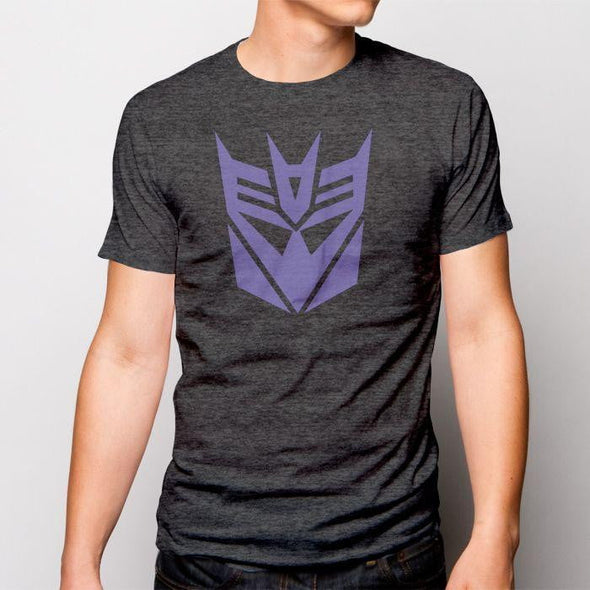 Purple Transformers Mens T-Shirt