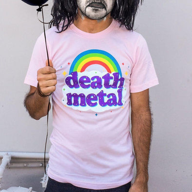Death Metal Pink Mens T-Shirt