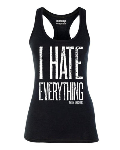 I Hate Everything Ladies Tank Top