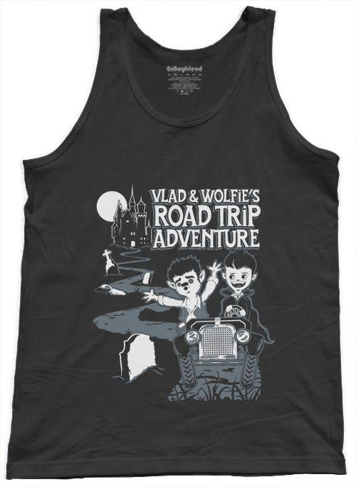Vlad & Wolfie's Road Trip Adventure Unisex Tank Top