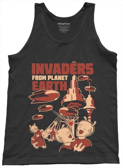 Invaders From Planet Earth Unisex Tank Top