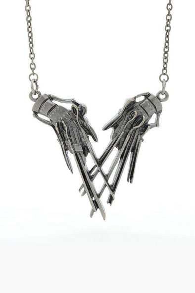 Edward Scissorhands Claws Necklace