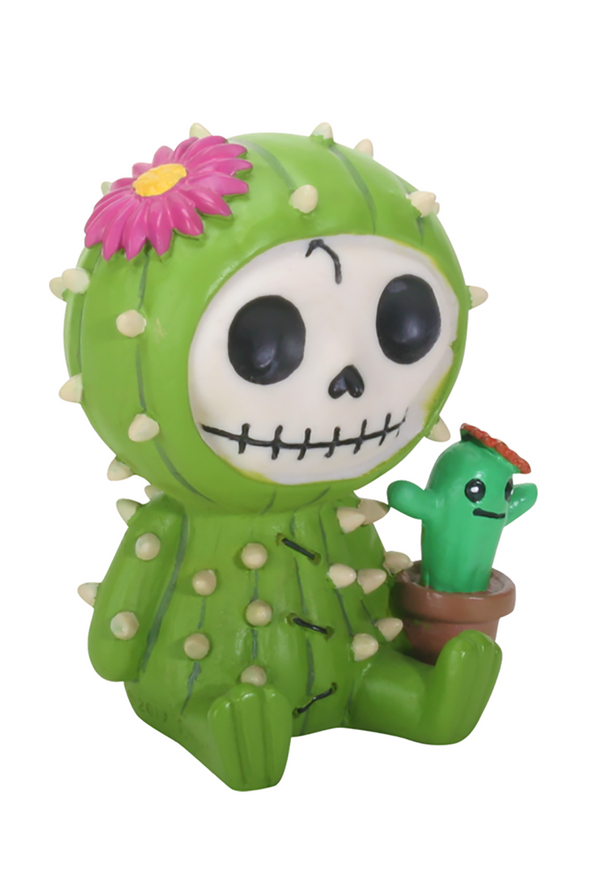 creepy cute kawaii toy cactus statue