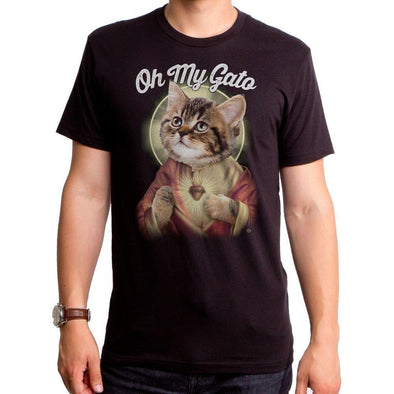 Oh My Gato Mens T-Shirt